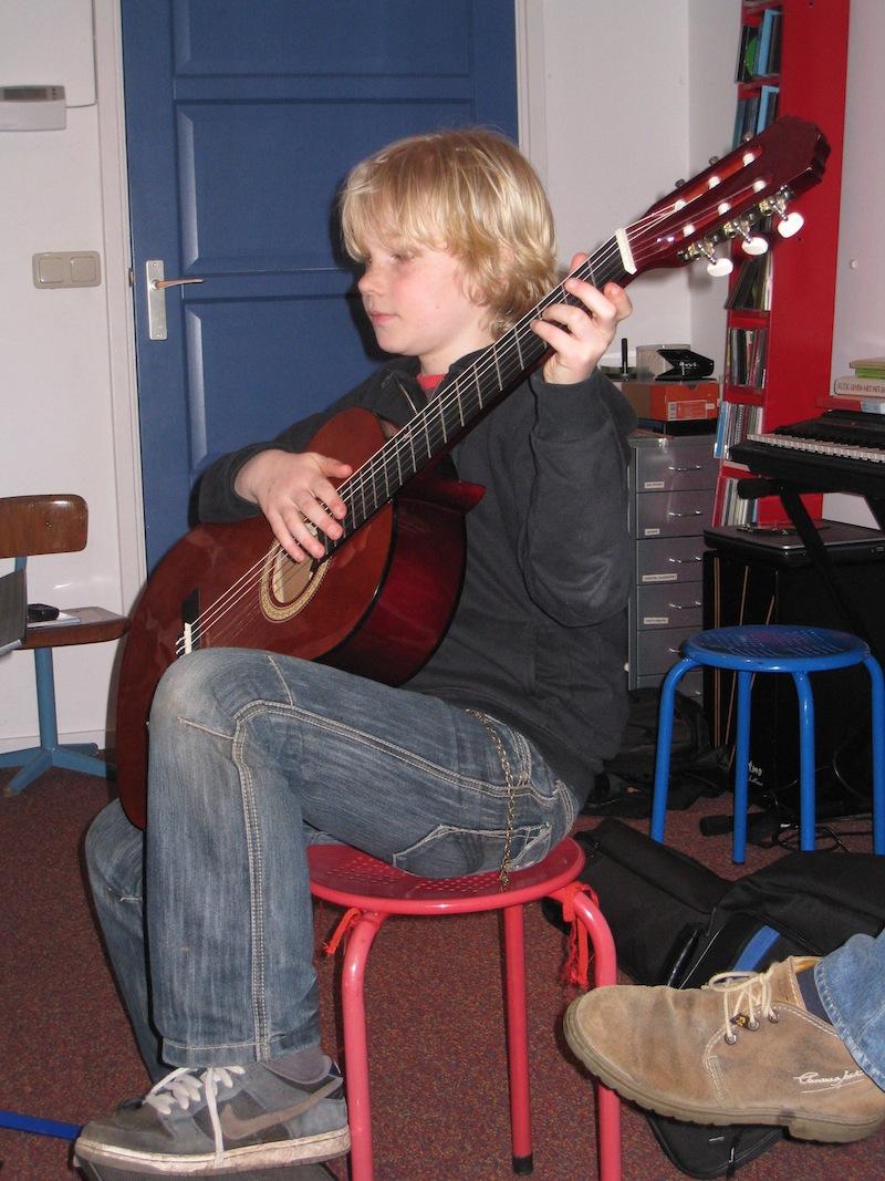 leertijd klassiek gitaarspelen